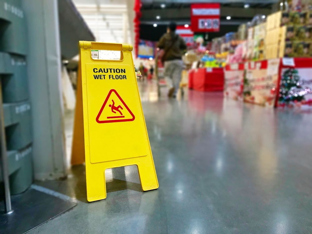 Did You Slip and Fall While Shopping?
