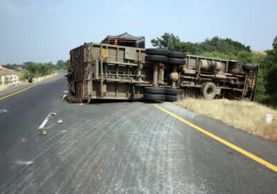 Truck Rollover Crashes