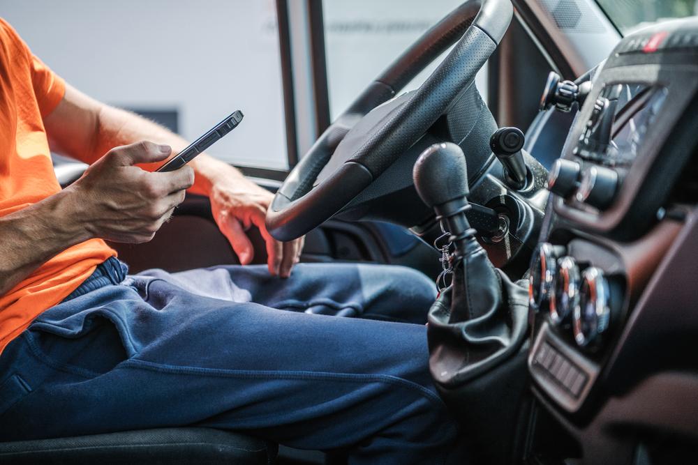 Dangerous Truck Driver Distractions